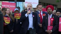 Corbyn: Thousands of people have come towards Labour