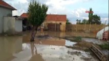 Karaman Dere Taştı, Köy Sular Altında Kaldı