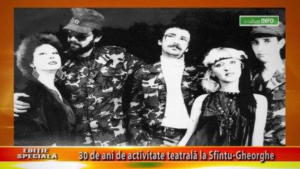 30 de ani de activitate teatrala ls Sfintu-Gheorghe