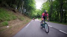 GoPro onboard camera / Caméra embarquée GoPro - Critérium du Dauphiné 2017