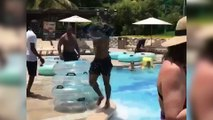 Man WALKS ON WATER To Become King of The Water Park