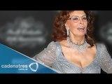 Sophia Loren festeja en México su cumpleaños / Sophia Loren celebrates her birthday in Mexico