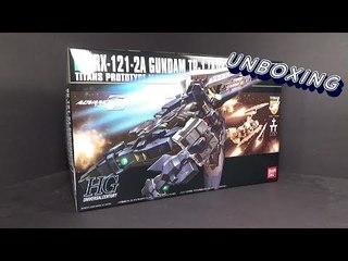 Unboxing: 1/144 HGUC Gundam Advance Hazel