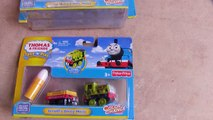 THOMAS TRAIN TRAMPOLINE CHALLENGE! Thomas and Friends with Brio  Fun Toy Trains for Kids!