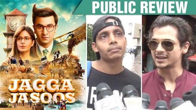Jagga Jasoos Public Review | Ranbir Kapoor | Katrina Kaif