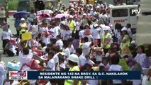 Residente ng 142 na brgy. sa Q.C., nakilahok sa malawakang Shake Drill sa Metro Manila