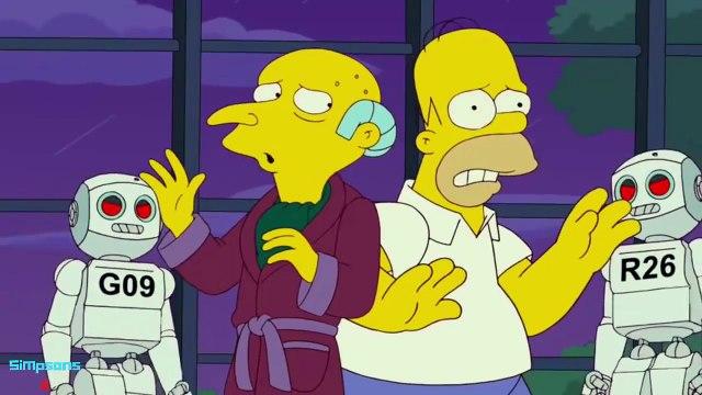 The Simpsons - Robot Wars