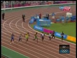 Justin Gatlin 100 m Sprint Olympics Games Athens 2004