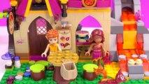 И пекарня Cookww Эльфы фантазия Лего Волшебный Набор для игр Обзор в игрушка распаковка видео Азари