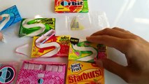USA Chewing Gum Countdown / A lot of Chewing by Candy Land (warning contains heavy chewing