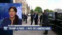 """Trump à Paris: les médias américains évoquent une """"bromance"""" naissante avec Macron"""