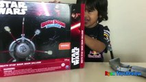 Family Fun Games for kids Star Wars Death Star Boom Boom Balloon Challenge Egg Surprise To