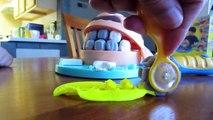 Dentiste docteur percer remplir amusement amusement jouer pâte à modeler examen les dents jouet jouets Doh n playset super