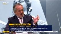 Conselho de Justiça da FPF confirma que Pinto da Costa não cometeu atos ilícitos