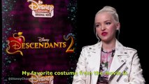 Descendants 2 - Dove Cameron, Sofia Carson and  China Anne McClain Talks About Their Looks