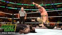 John Cena vs Mark Henry Money in the Bank 2013 Full Match - WWE Mark Henry vs John Cena 2013