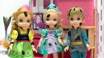 Dans le enfants clin doeil avec poupées coeur froid Elsa bain mousse de baignade barre de jeu de poupée