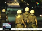 Grecia: estudiantes se enfrentan con policía tras protesta
