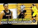 Keldon Johnson DROPS Defender at Peach Jam Elite 8! Boo Williams v Houston Hoops Highlights!