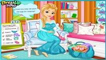 Bébé naissance faire gelé donne bébé Elsa Elsa Elsa