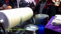 Indian Street Food Kolkata - Roller Ice Cream - Street Food India -- Food at Street