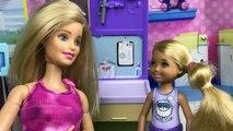 Peur dentiste poupées épisode pour a enfants de de mal aux dents jouets vidéos avec Barbie chelsea bar