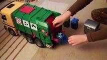 Des déchets jouet un camion vidéo phillips frère 3