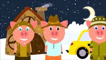 Gros mal Loup vol cadeaux de Trois petit les cochons gros mal Loup et Trois petit les cochons