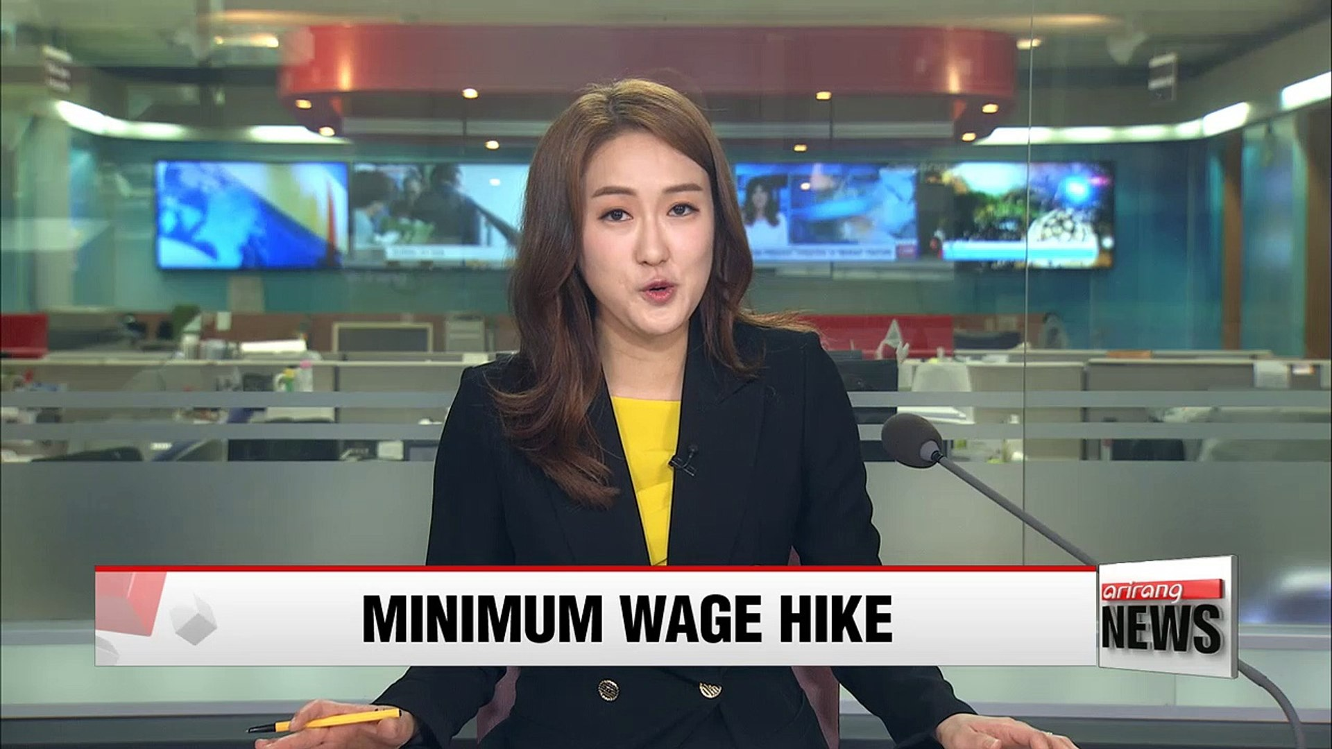 Korea hikes 2018 minimum wage by more than 16%, biggest increase since 2001