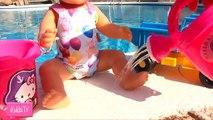 Куклы Пупсики ТЕЛЕЖКА С ПРОДУКТАМИ НАБОР Играем с Беби Бон Беби Элайв Мультик с игрушками