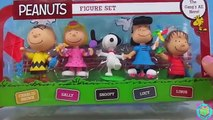 Biggest Giant Peanuts Movie Charlie Brown Surprise Egg Toys Surprises Snoopy Lucy Linus