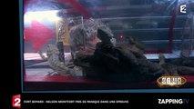 Fort Boyard : Nelson Montfort terrorisé, il abandonne en pleine épreuve (Vidéo)