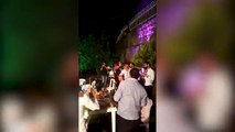 Shocking AK-47 SHOOTS a photographer wedding in Lebanon  MUST SEE