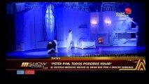 """Teatro: Famosos en el estreno de """"Peter Pan, todos podemos volar"""" Gran Rex"""