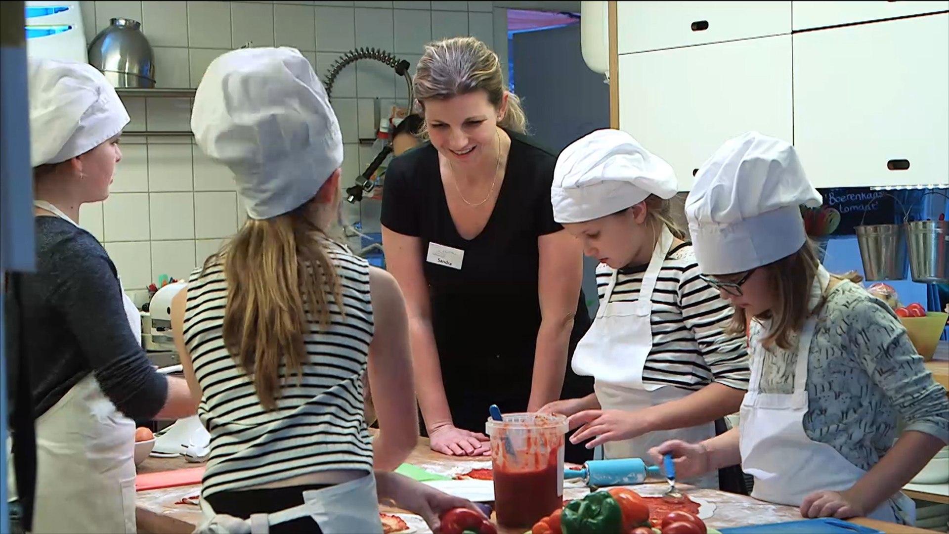 هذا الصباح-مطعم فريد في هولندا لتعليم الأطفال فنون الطبخ