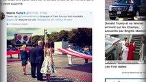 Emmanuel Macron : la sacrée bourde de Melania Trump