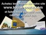 Envoyez votre courrier par Kayak