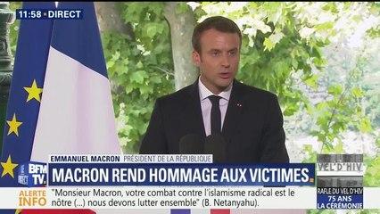 Vel d'hiv : Macron reconnaît la responsabilité de la France