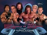 Backlash | Triple H, Ric Flair and Chris Jericho vs. Shawn Michaels, Kevin Nash and Booker T
