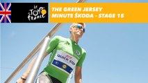 The ŠKODA green jersey minute - Stage 15 - Tour de France 2017