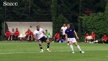 Beşiktaş ilk hazırlık maçına çıktı