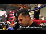 talking colorado shooter at robert garcia boxing academy