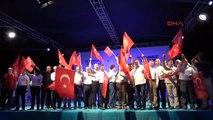 Adanalılar 15 Temmuz Şehitleri ve Demokrasi Için Nöbet Tuttu