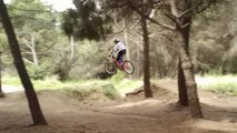 Flights Jumping Mountain Biker Saltos Vuelos Mountain Biker