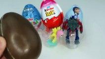 Super Surprise Eggs Kinder Joy Superhero Barbie Disney Princeerttss Pets Learn