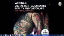 399.Digital Skin - Augmented Reality and Tattoo Art by Alison Bennett (Webinar)
