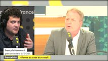 """François Hommeril (CFE-CGC) : """"Je dis toujours qu'on ne peut pas faire le constat avant l'accident"""""""