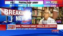 TMC's Saugata Roy Backs Partha Chatterjee's Anti-Army Tirade