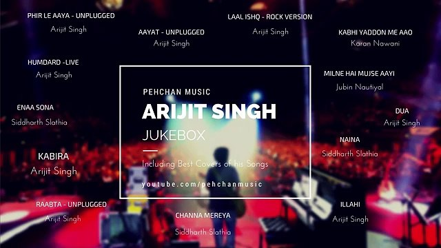 Best of Arijit Singh (Unplugged) | Arijit Singh Songs | Unplugged Jukebox - 2017