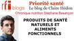 Les produits de santé naturels et fonctionnels